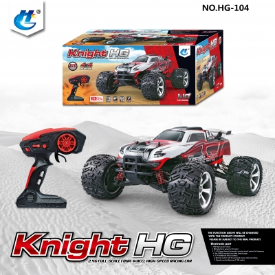 HENGGUAN MODEL HG-104 1:10 2.4G 4WD HIGH-SPEED VEHICLE (BIGFOOT)