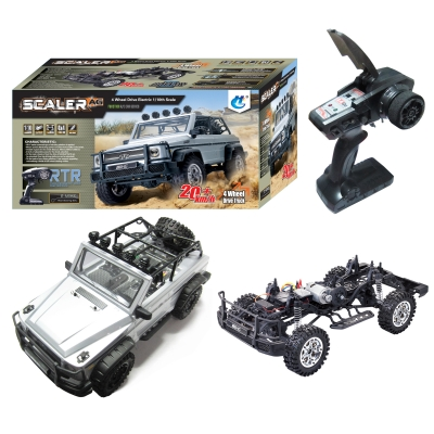 HENGGUAN MODEL HG-P402 1:10 2.4G 4WD CLIMBING VEHICLE