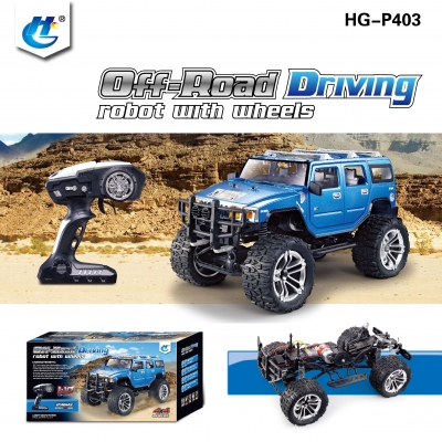 HENGGUAN MODEL HG-P403 1:10 2.4G 4WD HUMVEE CLIMBING VEHICLE
