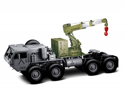 HENGGUAN MODEL HG-P803 MILITARY TRUCK HG-P802 UPDATE PART LIFTING ARM ASSEMBLY