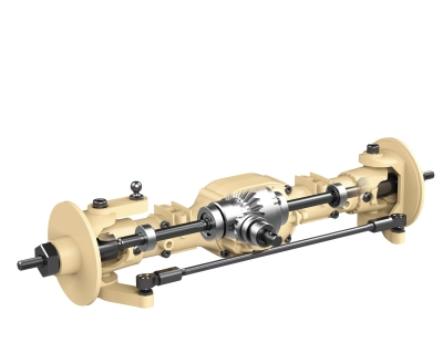 HENGGUAN MODEL 6ASS-P02 FRONT AXLE ASSEMBLY(FOR HG-P602)