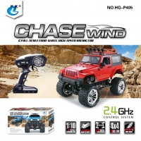 HENGGUAN MODEL HG-P405 1:10, 2.4G JEEP WRANGLER CLIMBING CAR
